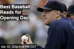 Best Baseball Reads for Opening Day