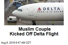 Muslim Couple Kicked Off Delta Flight