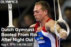 Dutch Gymnast Booted From Rio After Night Out
