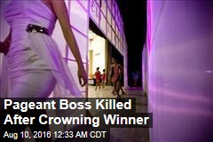Mexico Pageant Boss Killed After Crowning Winner