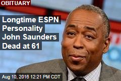 Longtime ESPN Personality John Saunders Dead at 61