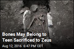 Bones May Belong to Teen Sacrificed to Zeus