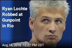 Ryan Lochte Robbed at Gunpoint