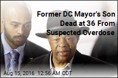 Family: Marion Barry's Son Died After Drug Overdose