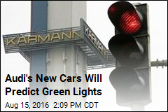 Audi's New Cars Will Predict Green Lights