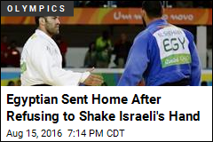 Egyptian Sent Home After Refusing to Shake Israeli's Hand