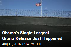 Obama's Single Largest Gitmo Release Just Happened