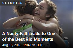 A Nasty Fall Leads to One of the Best Rio Moments