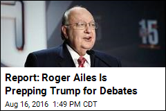 Report: Roger Ailes Is Prepping Trump for Debates