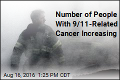 Number of People With 9/11-Related Cancer Increasing