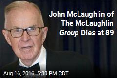 John McLaughlin of The McLaughlin Group Dies at 89