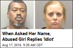 When Asked Her Name, Abused Girl Replies 'Idiot'