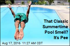 That Classic Summertime Pool Smell? It's Pee