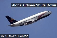 Aloha Airlines Shuts Down