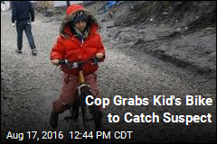 Cop Grabs Kid's Bike to Catch Suspect