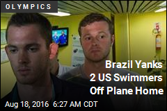2 US Swimmers Pulled Off Plane Home