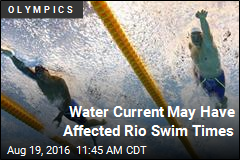 Water Current May Have Affected Rio Swim Times