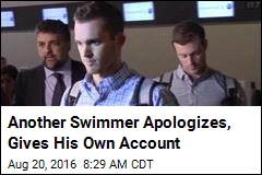 Another Swimmer Apologizes, Gives His Own Account