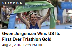 Gwen Jorgensen Wins US Its First Ever Triathlon Gold
