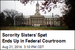 Sorority Sisters' Spat Ends Up in Federal Courtroom