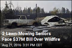 2 Lawn-Mowing Seniors Face $37M Bill Over Wildfire