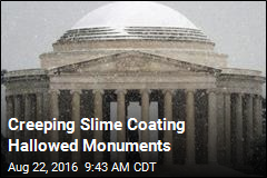Creeping Slime Coating Hallowed Monuments