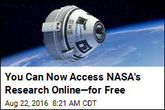 NASA Offers Out-of-This-World Access to Research Online
