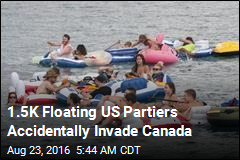 Canada Rescues Hundreds of Floating American Revelers
