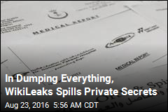 In Dumping Everything, WikiLeaks Spills Private Secrets