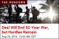 Deal Will End 52-Year War, but Hurdles Remain
