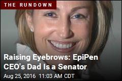 Drug CEO's Dad in Senate Now a Big Focus
