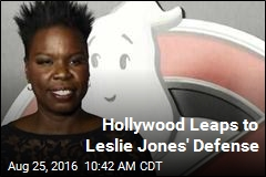 Hollywood Leaps to Leslie Jones' Defense
