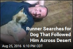 Runner, Dog Go to Impossible Lengths to Stay Together