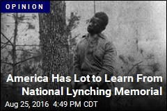 It's Far Past Time to Build a National Lynching Memorial