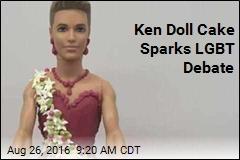 Ken Doll Cake Sparks LGBT Debate