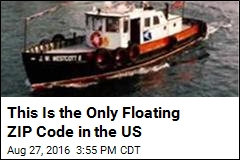 This Is the Only Floating ZIP Code in the US