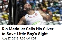 Rio Medalist Sells His Silver to Save Little Boy's Sight