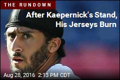 After Kaepernick's Stand, His Jerseys Burn