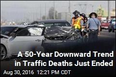 Traffic Fatalities Have Biggest Jump Since 1966