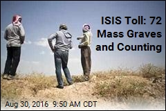 ISIS Toll: 72 Mass Graves and Counting
