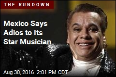Mexico Says Adios to Its Star Musician
