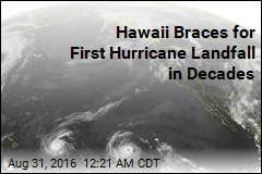 Hawaii Braces for First Hurricane Landfall in Decades