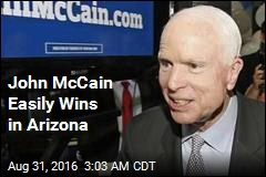 John McCain Easily Wins in Arizona