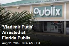 'Vladimir Putin' Arrested at Florida Publix