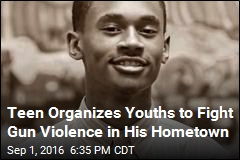 Teen Organizes Youths to Fight Gun Violence in His Hometown