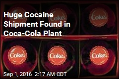 Huge Cocaine Shipment Found in Coca-Cola Plant