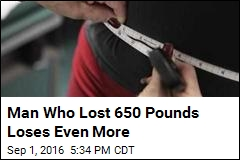 Man Who Lost 650 Pounds Loses Even More
