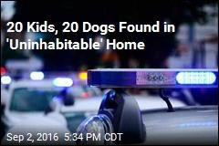 Authorities Rescue 20 Kids, 18 Dogs From Unlivable Home