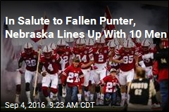 Nebraska Gives Fallen Punter Solemn Tribute