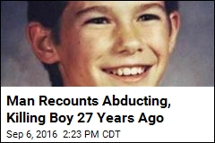 Man Admits Abducting, Killing Boy 27 Years Ago